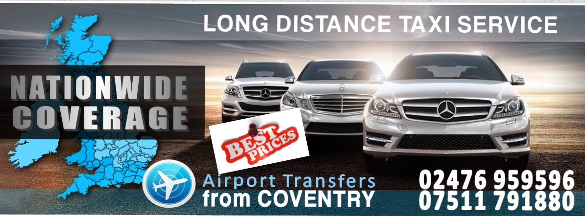 Taxi day hire from Coventry