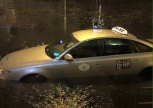 coventry taxi service flooding