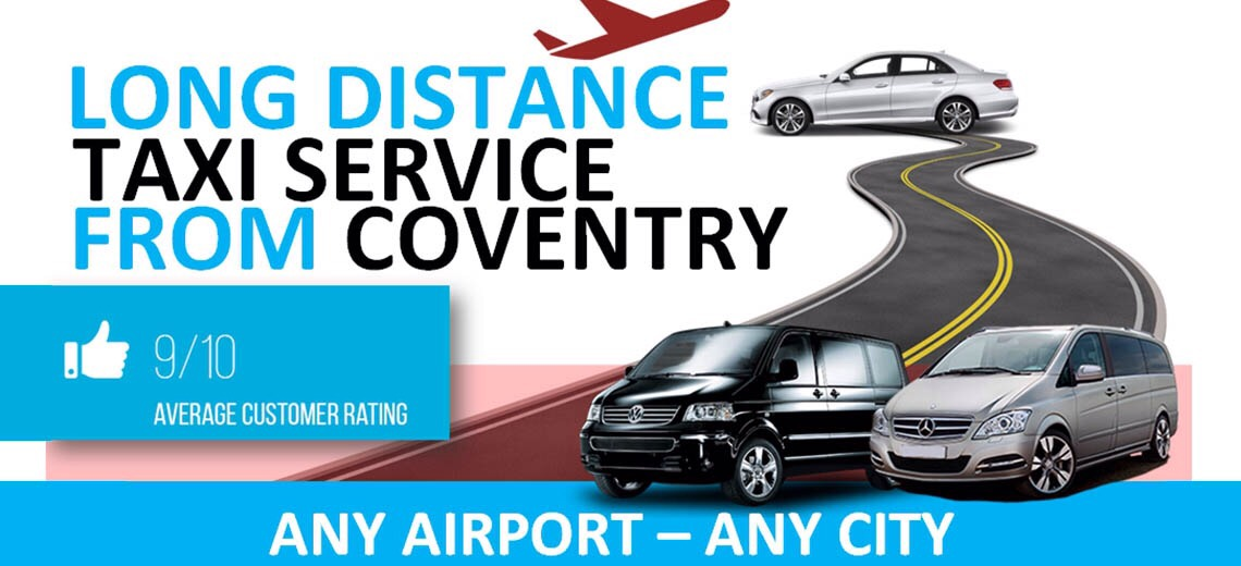 Coventry long distance taxi