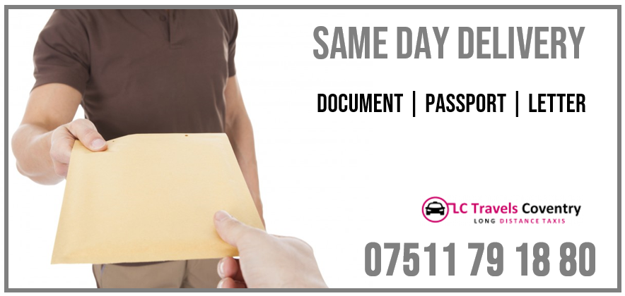 Urgent Same Day Courier Services Coventry