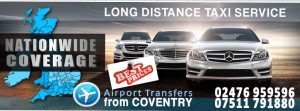 Coventry to London taxi