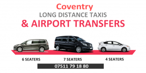 Heathrow Airport Taxis to/from Coventry