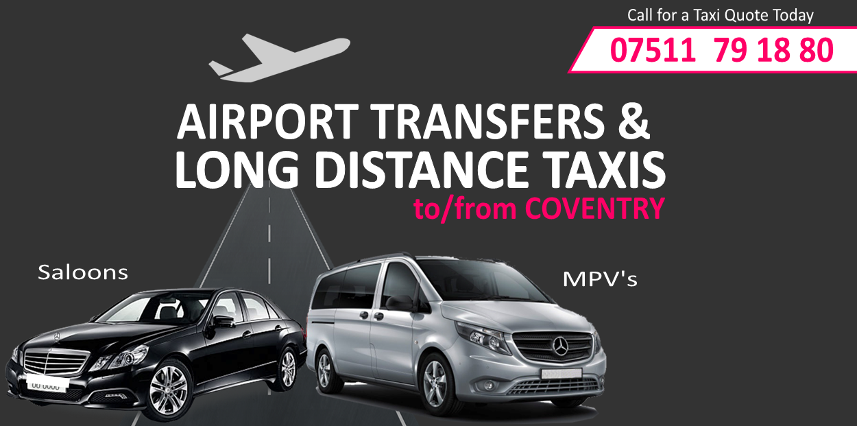 Cheap taxi from coventry to london