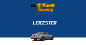 Taxi from Coventry to Leicester